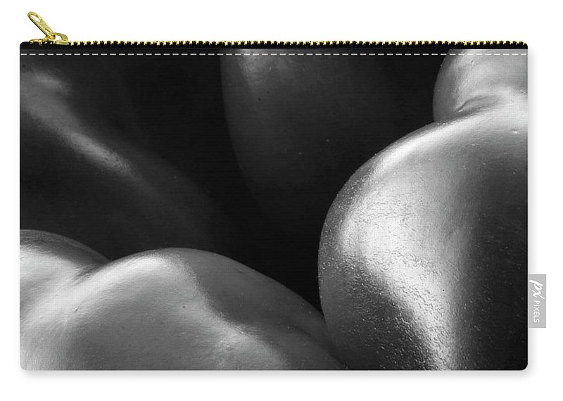 Black & White Carry-all Pouch featuring the photograph Skin by Frederic A Reinecke