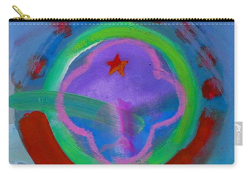 Love Carry-all Pouch featuring the painting Skua by Charles Stuart