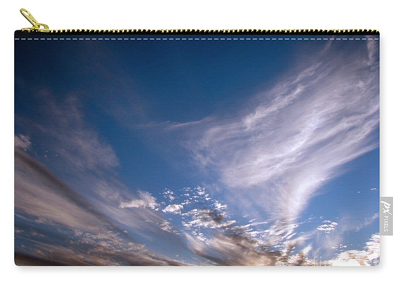 Skies Carry-all Pouch featuring the photograph Sky by Amanda Barcon