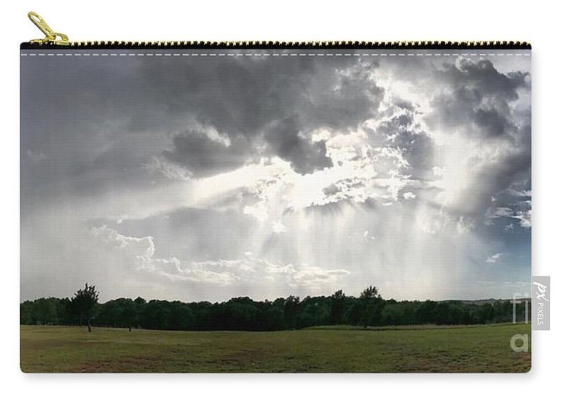 Sky Carry-all Pouch featuring the photograph Sky Divided by Anita Streich