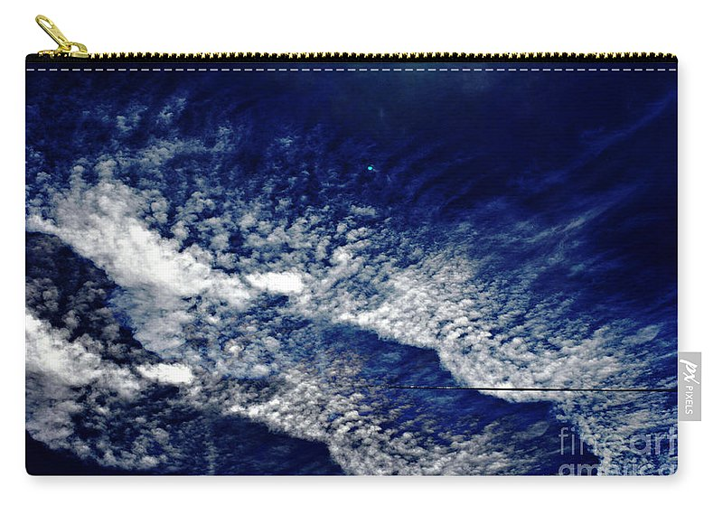 Clay Carry-all Pouch featuring the photograph Sky Emulating The Sea by Clayton Bruster