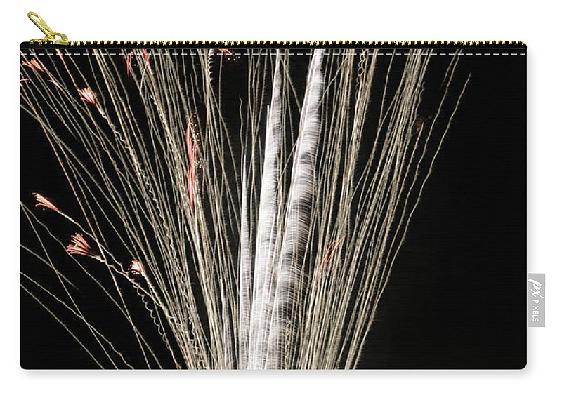 July 4th Carry-all Pouch featuring the photograph Sky Flowers by Phill Doherty