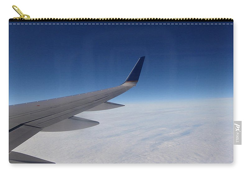 Sky Carry-all Pouch featuring the photograph Sky Is The Limit by Are Lund