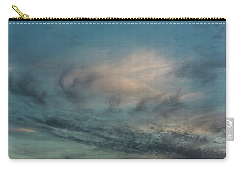 Sky Life Carry-all Pouch featuring the photograph Sky Life by Steven Poulton