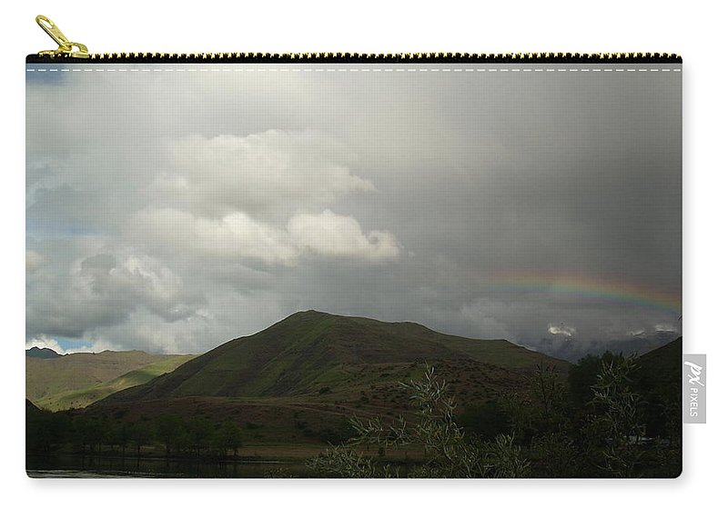 Landscape Carry-all Pouch featuring the photograph Sky by Sara Stevenson