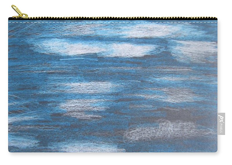 Sky Carry-all Pouch featuring the drawing Sky Sketch by Karen Henninger