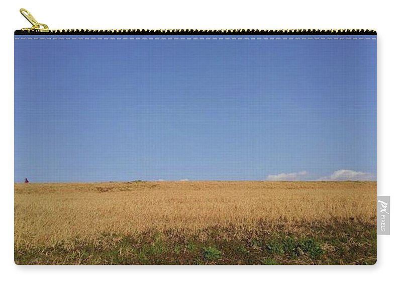 Sunnyday Carry-all Pouch featuring the photograph Sunnyday by Kumiko Izumi