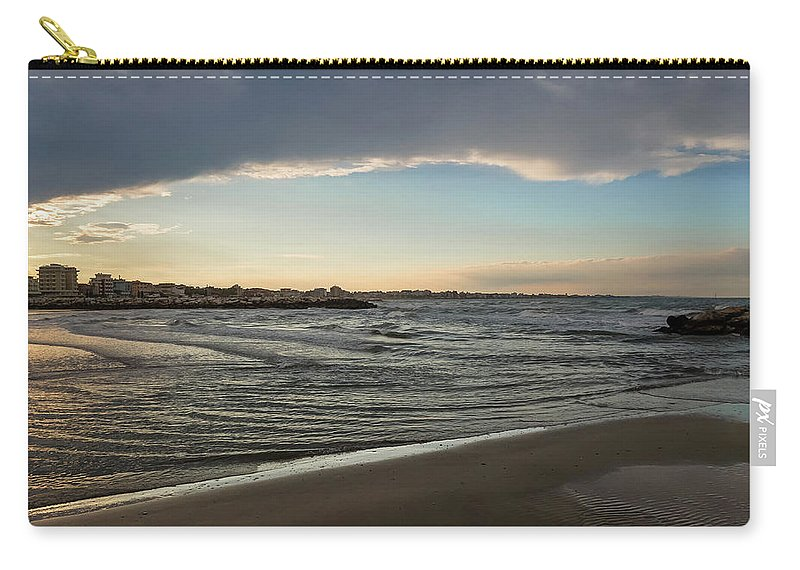 Skylight After Storm By Marina Usmanskaya Carry-all Pouch featuring the photograph Skylight After Storm by Marina Usmanskaya