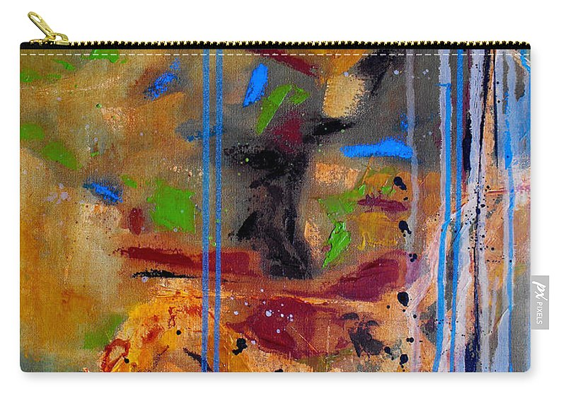 Abstract Carry-all Pouch featuring the painting Skyward by Ruth Palmer