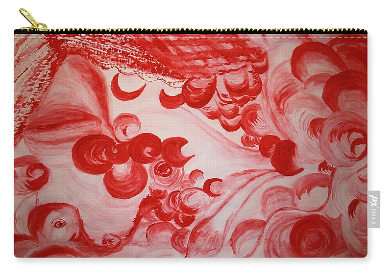 Gloria Ssali Carry-all Pouch featuring the painting Sleeping Beauty by Gloria Ssali