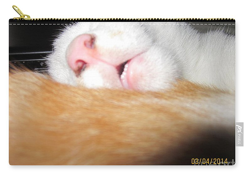 Carry-all Pouch featuring the photograph Sleeping Beauty by Miss McLean