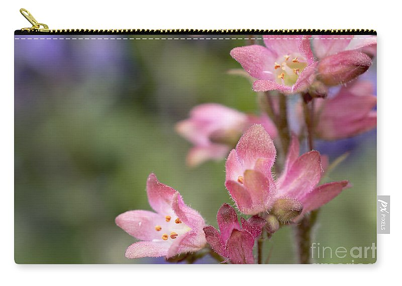 Carry-all Pouch featuring the photograph Small Flowers by Tine Nordbred