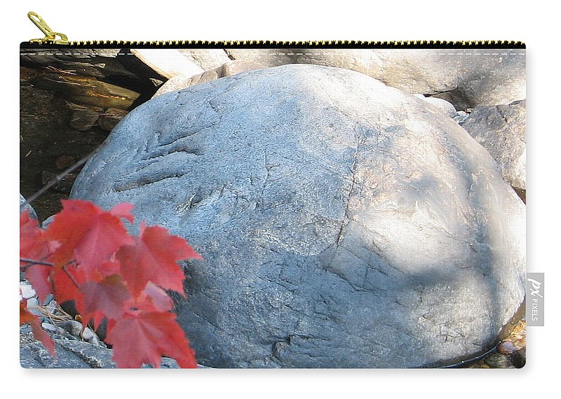 Stone Carry-all Pouch featuring the photograph Small Wonder by Kelly Mezzapelle