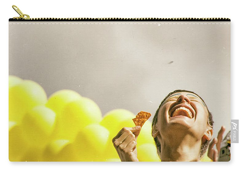 Smile Carry-all Pouch featuring the photograph Smile by James Conway