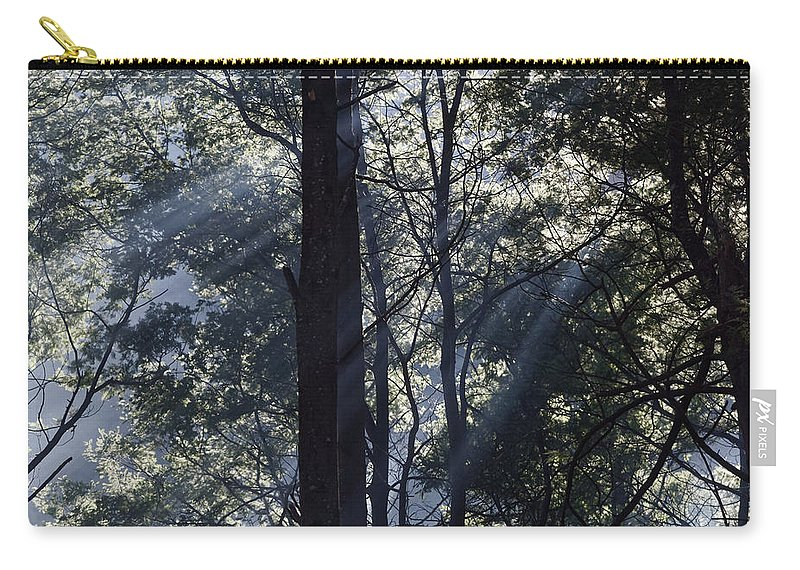 Australia Carry-all Pouch featuring the photograph Smoke In The Air by Renee Miller