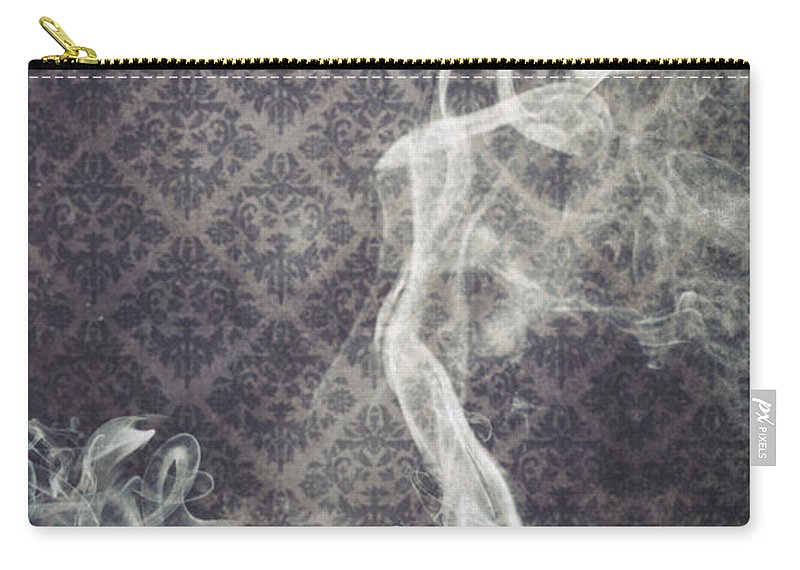 Shoe Carry-all Pouch featuring the photograph Smoky Shoes by Joana Kruse