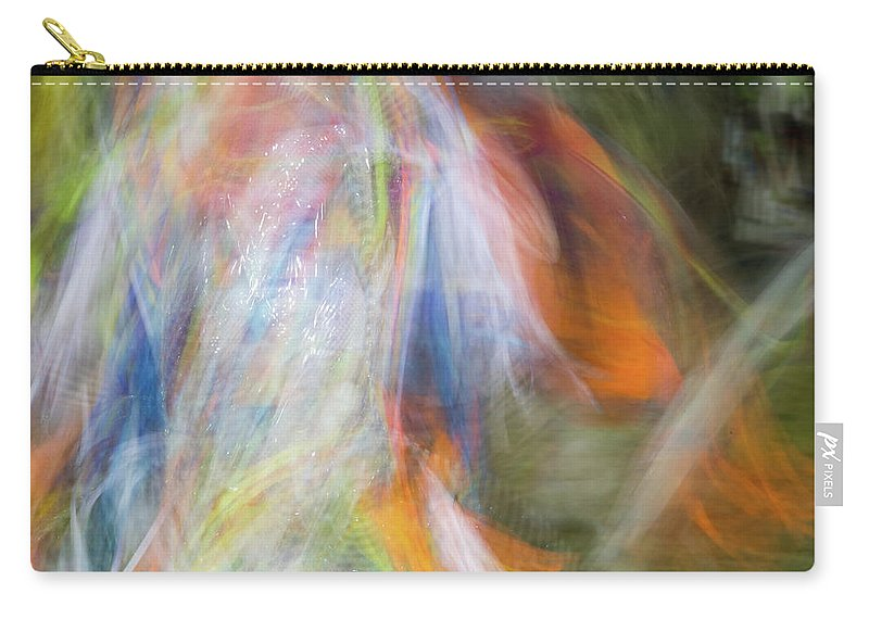 Pow Wow Carry-all Pouch featuring the photograph Smudge 212 by M Bubba Blume