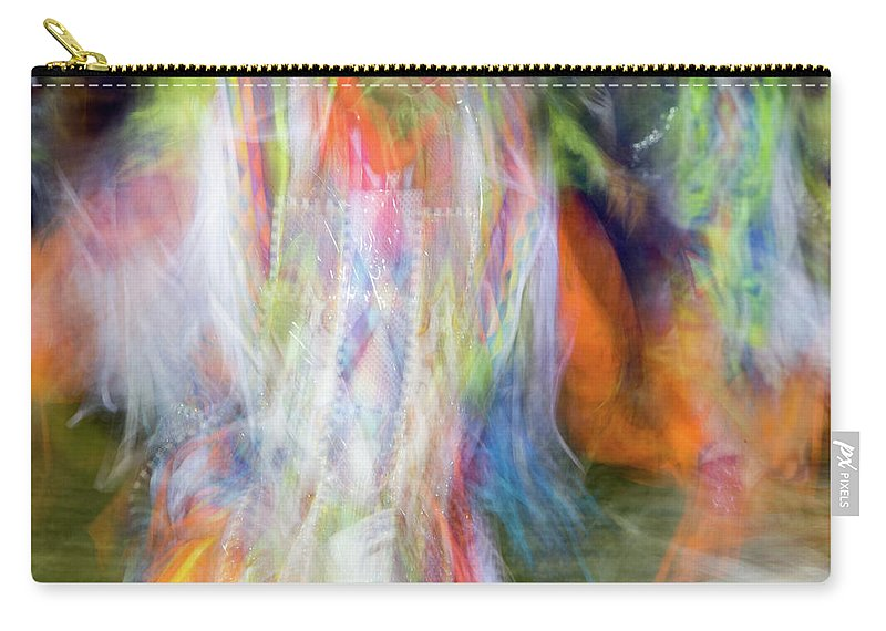 Pow Wow Carry-all Pouch featuring the photograph Smudge 213 by M Bubba Blume