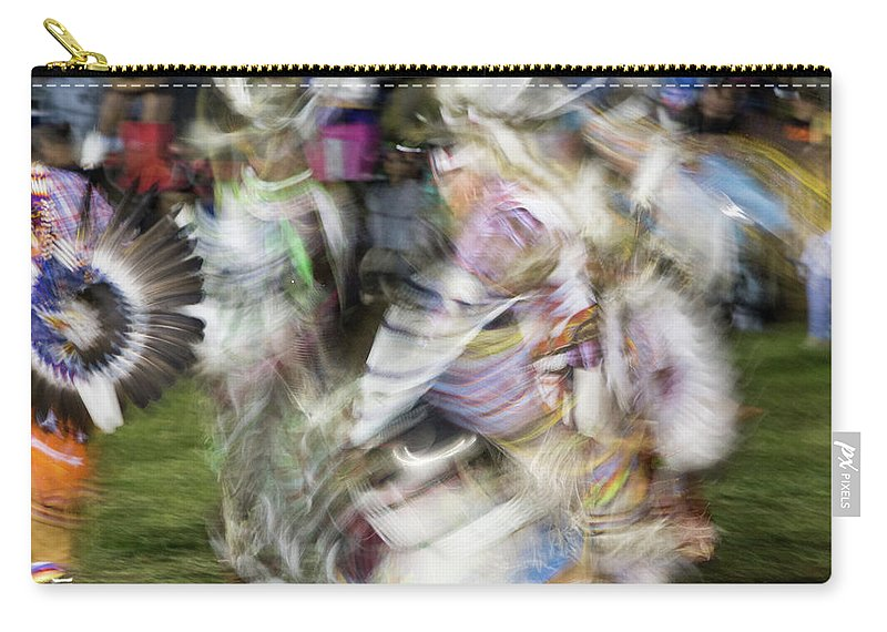 Pow Wow Carry-all Pouch featuring the photograph Smudge 220 by M Bubba Blume