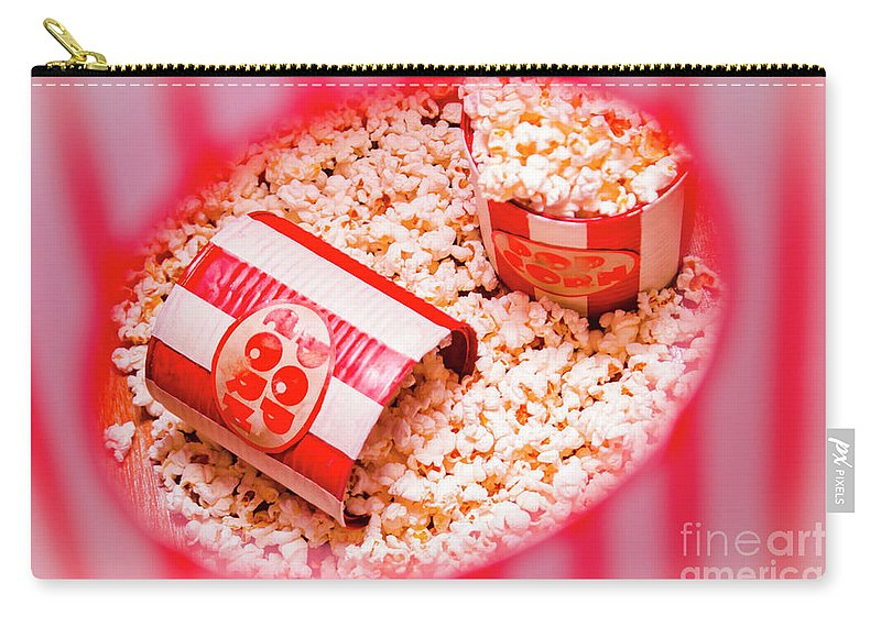 Entertainment Carry-all Pouch featuring the photograph Snack Bar Pop Corn by Jorgo Photography - Wall Art Gallery