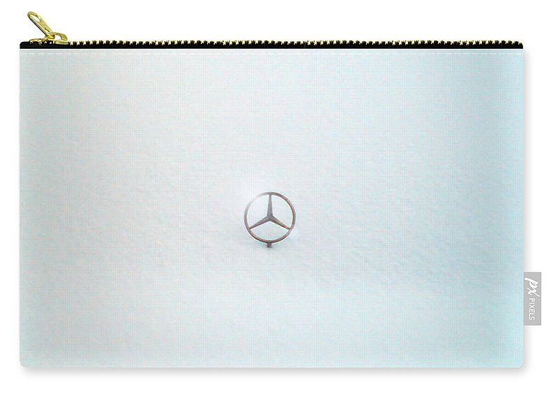 Snow Carry-all Pouch featuring the photograph Snow Star by Are Lund