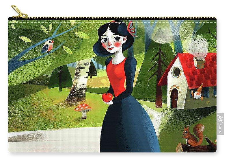 Snow White Snowwhite Carry-all Pouch