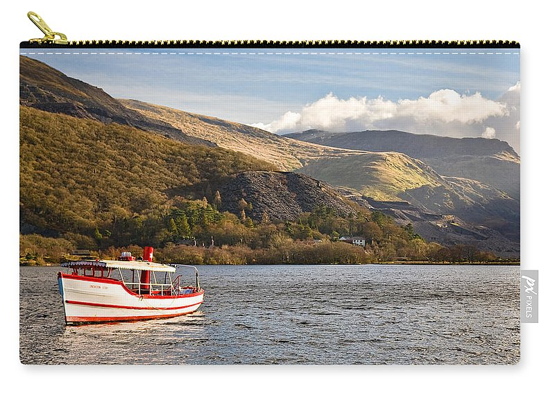Snowdonia Carry-all Pouch featuring the photograph Snowdon Star by Dave Bowman