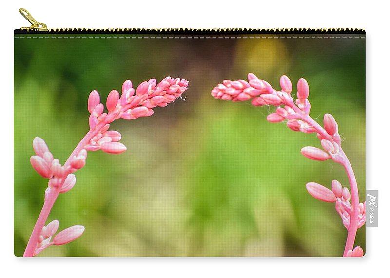 Flowers Carry-all Pouch featuring the photograph So Close And Yet So Far by Sharon Horning