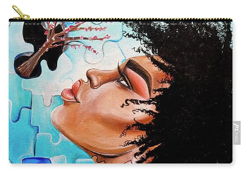 Butterfly Carry-all Pouch featuring the photograph So Much more to me that you just cant See by Artist RiA
