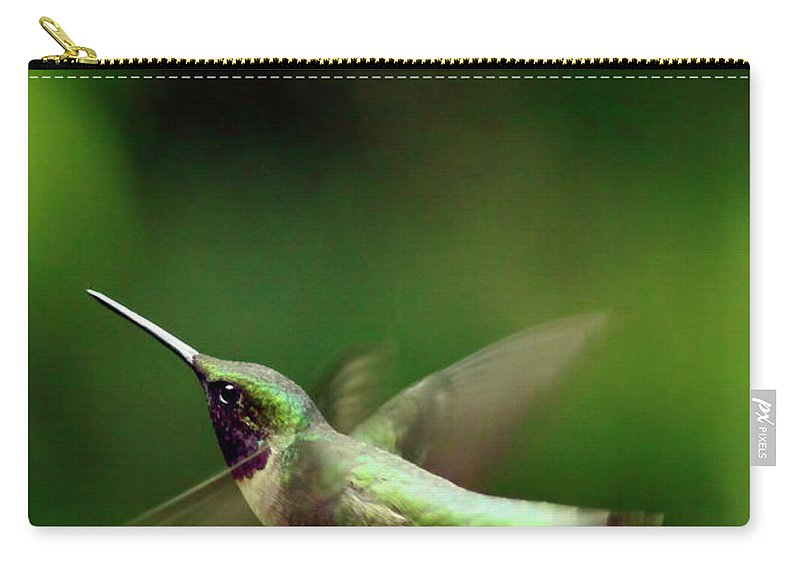 Canvas Carry-all Pouch featuring the photograph Soaring by Phill Doherty
