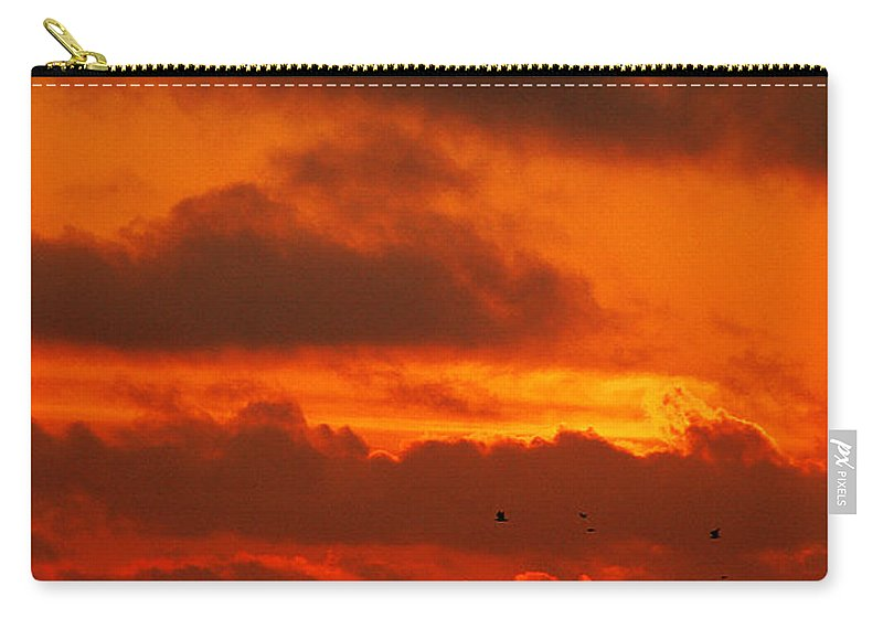 Clay Carry-all Pouch featuring the photograph Socal Sunset by Clayton Bruster