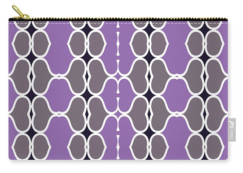 Purple Carry-all Pouch featuring the digital art Sofala by Ceil Diskin
