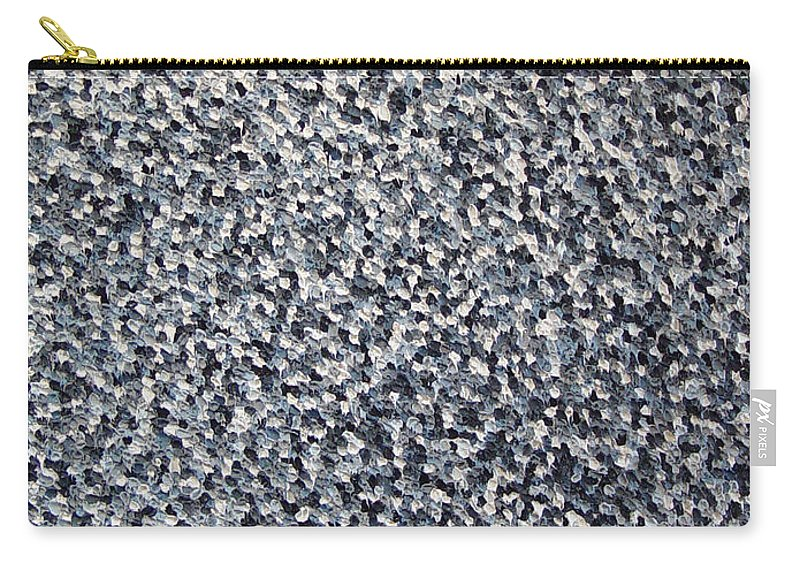 Abstract Carry-all Pouch featuring the painting Soft Grey Scale by Dean Triolo