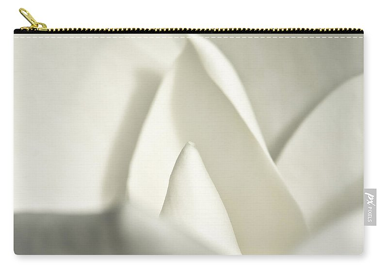 Magnolia Carry-all Pouch featuring the photograph Soft Magnolia by Christopher Holmes