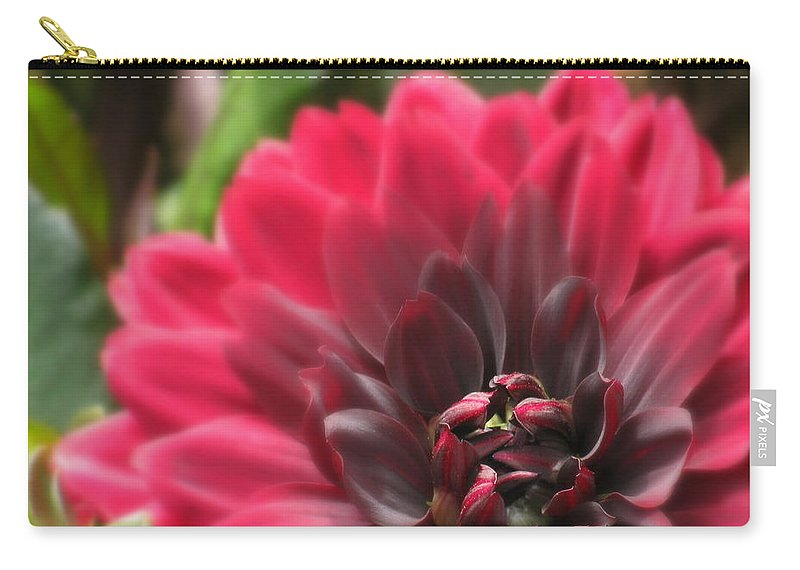 Flowers Carry-all Pouch featuring the photograph Soft Whisper by Deborah Crew-Johnson