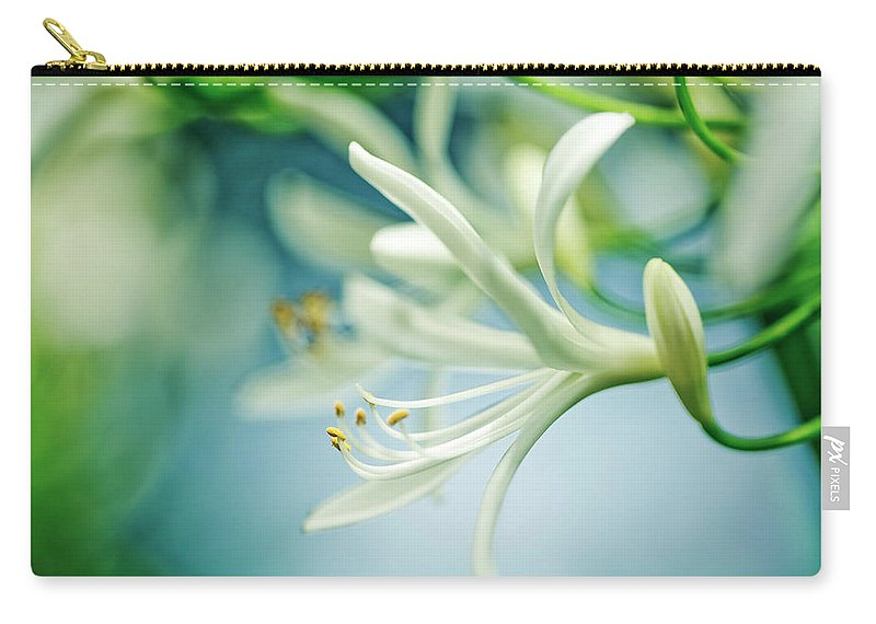 Soft Carry-all Pouch featuring the photograph Soft White by Nailia Schwarz
