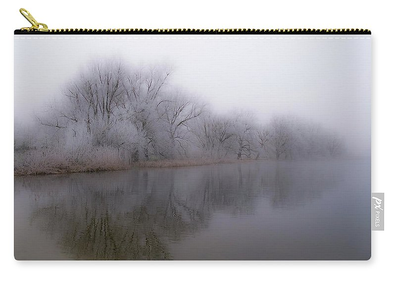 Alphen Aan Den Rijn Carry-all Pouch featuring the photograph Soft Winter by Frits Lourens