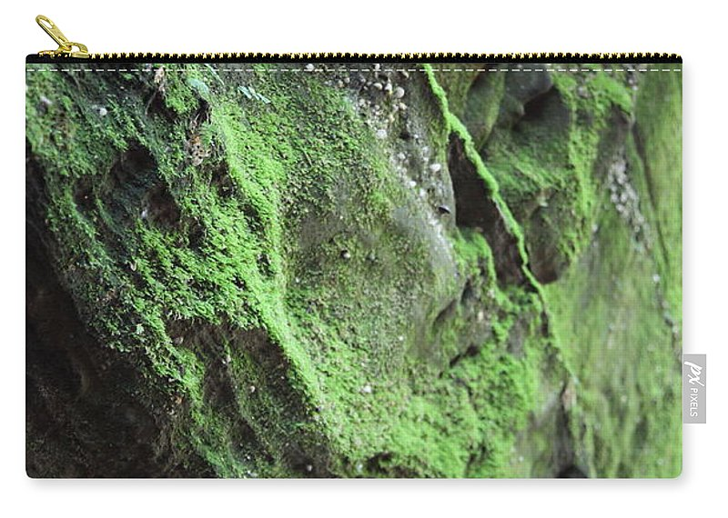 Rocks Carry-all Pouch featuring the photograph Soften The Moment by Amanda Barcon