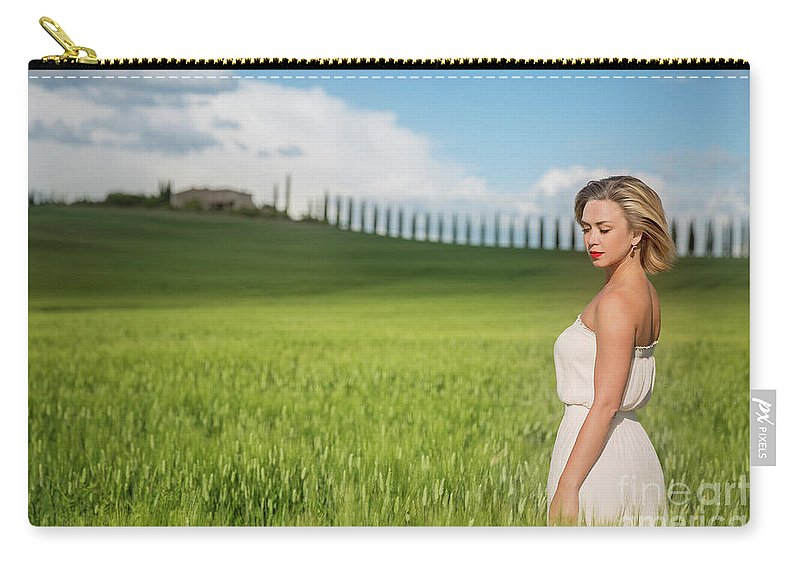 Kremsdorf Carry-all Pouch featuring the photograph Sogno Toscana by Evelina Kremsdorf