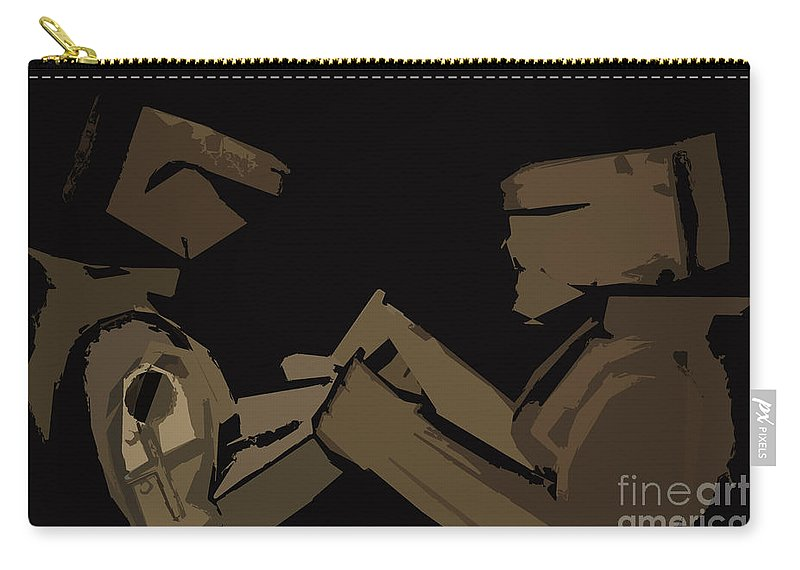 Digital Photographs Carry-all Pouch featuring the digital art Sokem by Kim Henderson