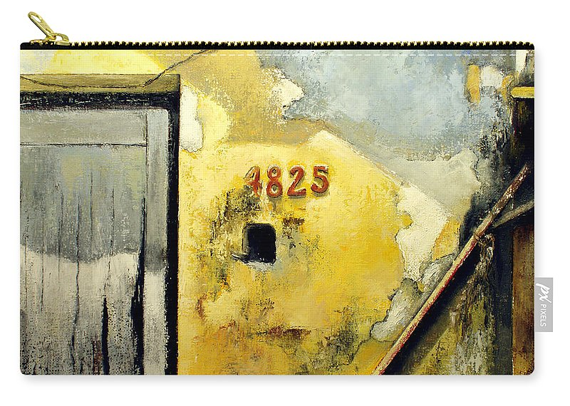 Havana Carry-all Pouch featuring the painting Solana by Tomas Castano