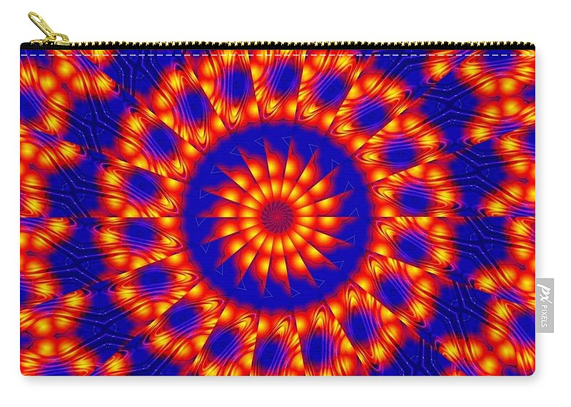 Sun Carry-all Pouch featuring the digital art Solar Energy by Robert Orinski