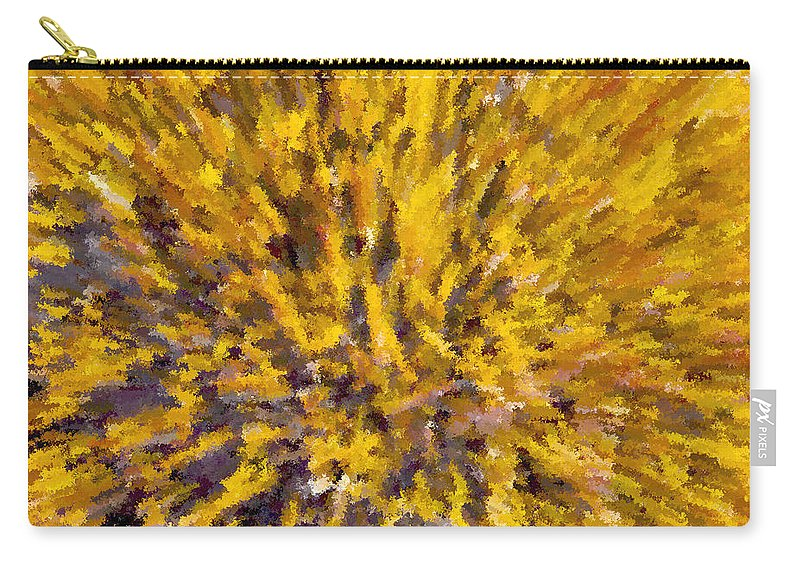 Solar Furnace Carry-all Pouch featuring the painting Solar Furnace by David Lee Thompson