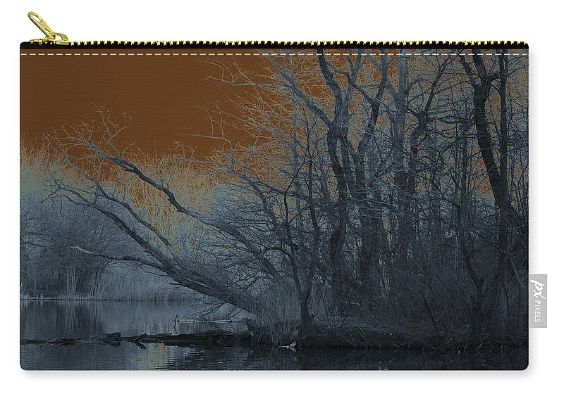 Solarization Carry-all Pouch featuring the photograph Solarization by Kendall Eutemey