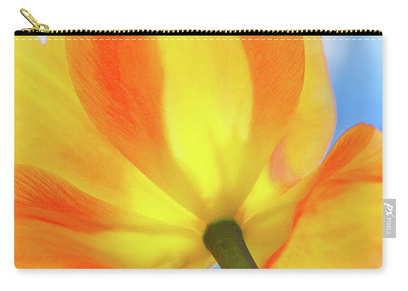 Yellow Carry-all Pouch featuring the photograph Soleggiato by Iryna Goodall