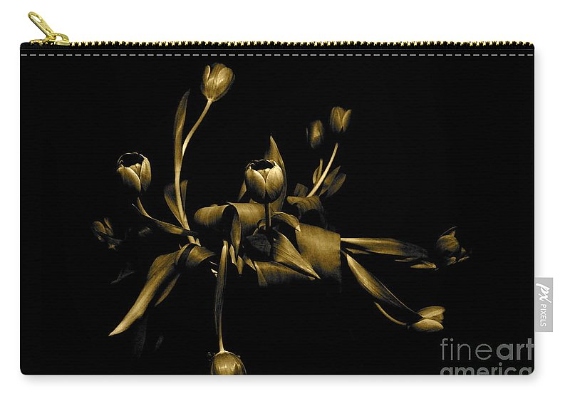 Danica Radman Carry-all Pouch featuring the photograph Solid Gold by Danica Radman