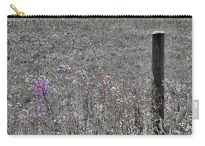 Solitary Carry-all Pouch featuring the photograph Solitary by Susan Kinney