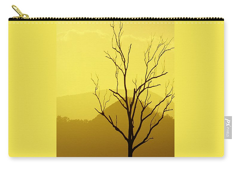 Landscape Carry-all Pouch featuring the photograph Solitude by Holly Kempe