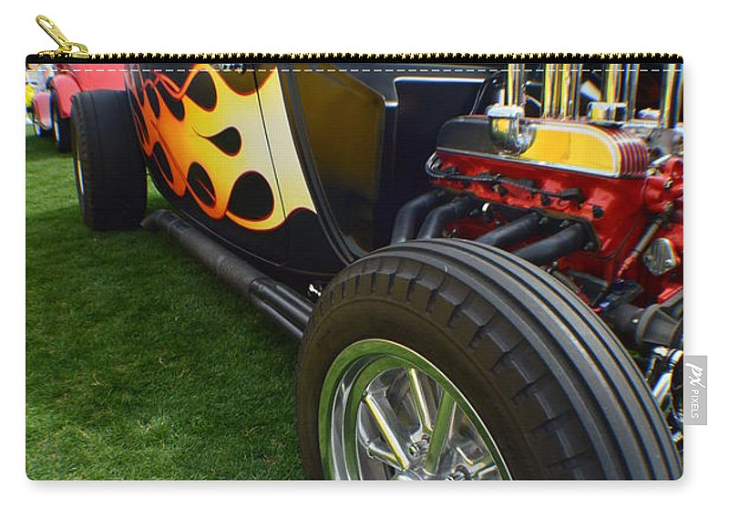 Cars Carry-all Pouch featuring the photograph Some Like It Hot by Barbara Angle