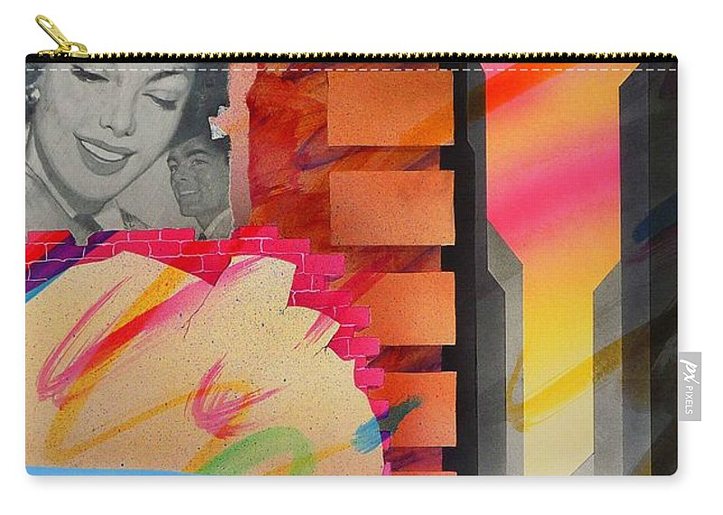 Collage Carry-all Pouch featuring the painting Someone You Love by Charles Stuart